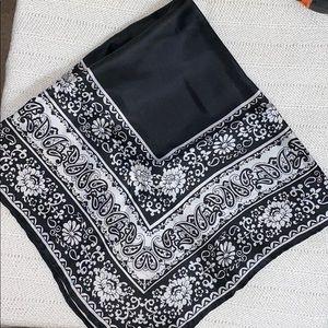 "Vintage ""A Specialty house Fashion"" silk scarf"